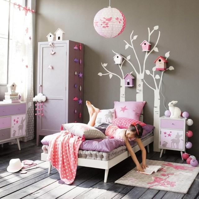 Camerette romantiche per bambine idee facili da imitare - Arredare cameretta bimba ...