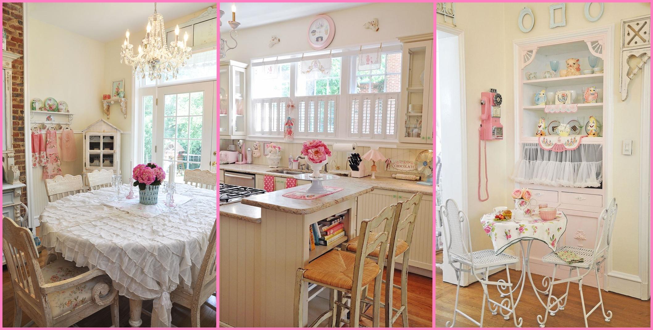La casa shabby chic è calda, accogliente e luminosa. Trasforma La Cucina In Stile Country I 15 Consigli Di Jennifer