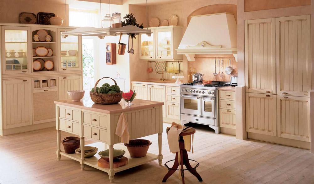Cucine shabby chic moderne da scavolini a ikea for Cucine in stile