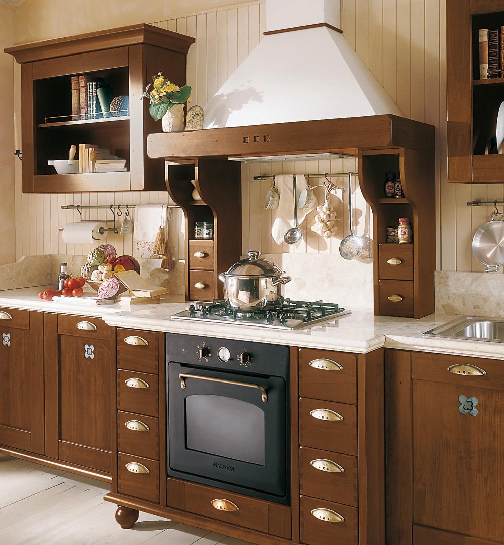 Le cucine rustiche di mondo convenienza e lube - Pitture per cucine rustiche ...