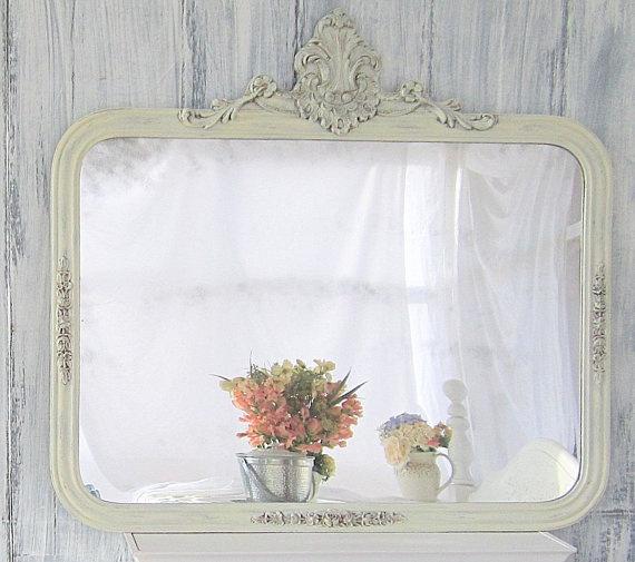 Come decorare gli specchi dell 39 ikea in stile shabby chic for Mobili shabby chic ikea