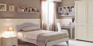 Camere country chic: l'azienda Bianchi presenta la collezione Nicole cameretta
