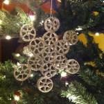 Idee albero di Natale fai da te: decorazioni in pasta secca decoro