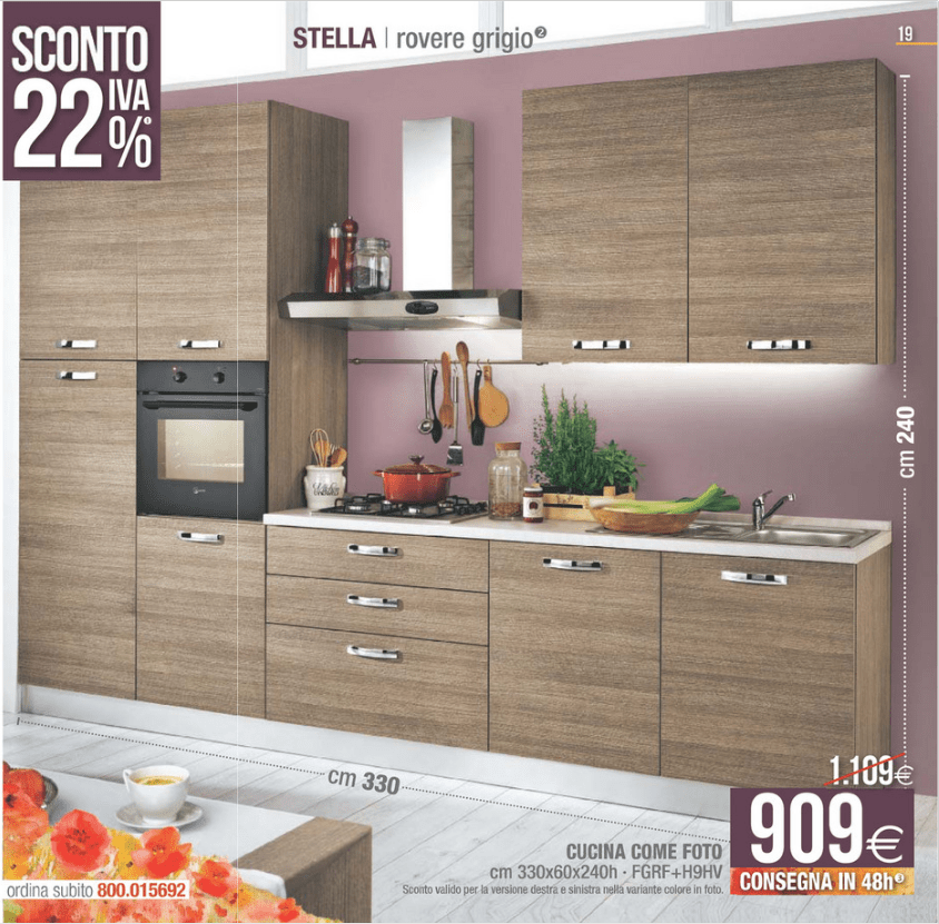Awesome Cucina Time Mondo Convenienza Pictures - Mosquee-rodez.com ...
