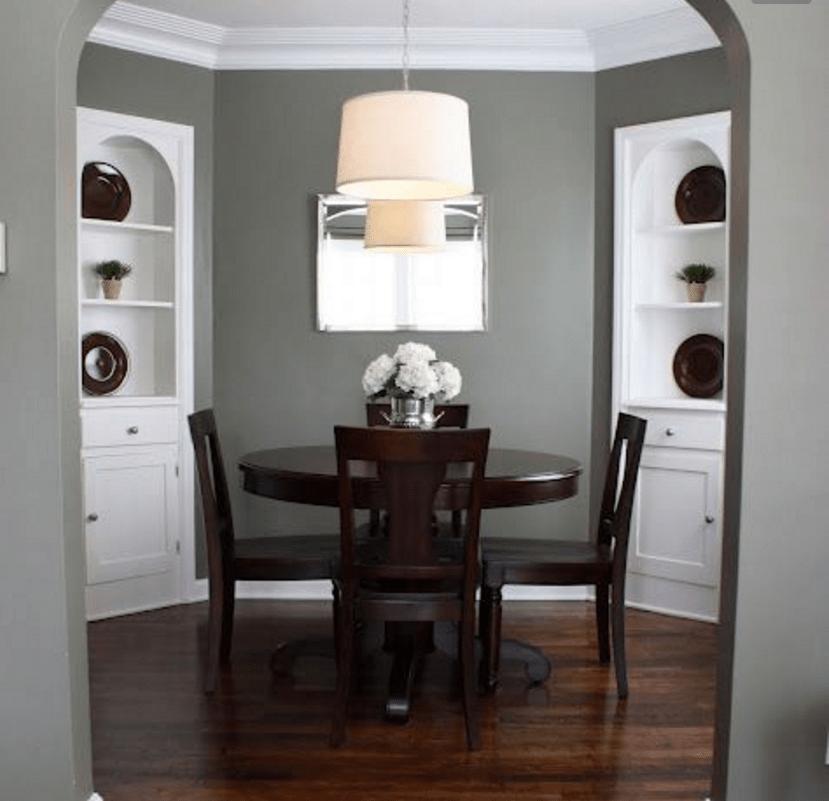 Dipingi anche tu le pareti color tortora scuro e la tua casa ...