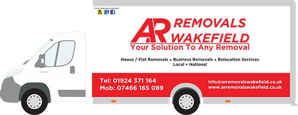 AR Removals Fleet Luton Maxi Loader Van
