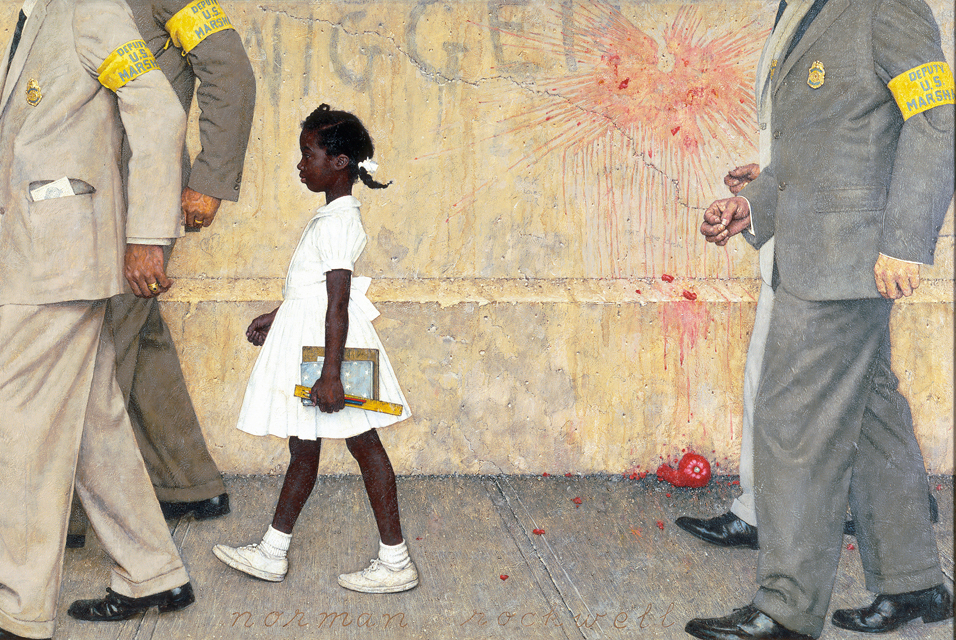 Ruby Bridges Painting White House