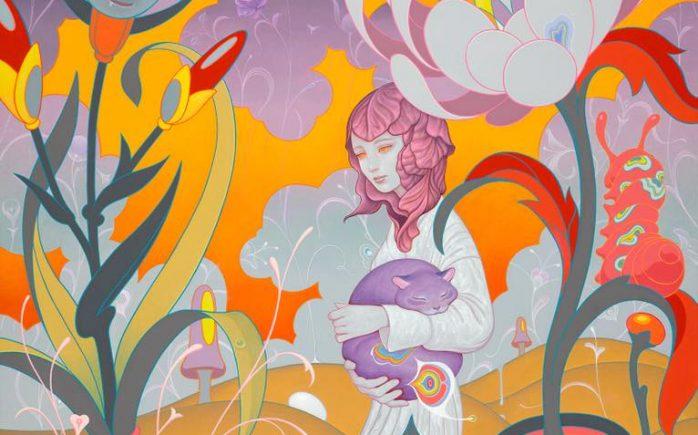 "29597748_10155461089761824_4706666446982536799_n-698x435 Previews: James Jean – ""Azimuth"" @ Kaikai Kiki Gallery Random"