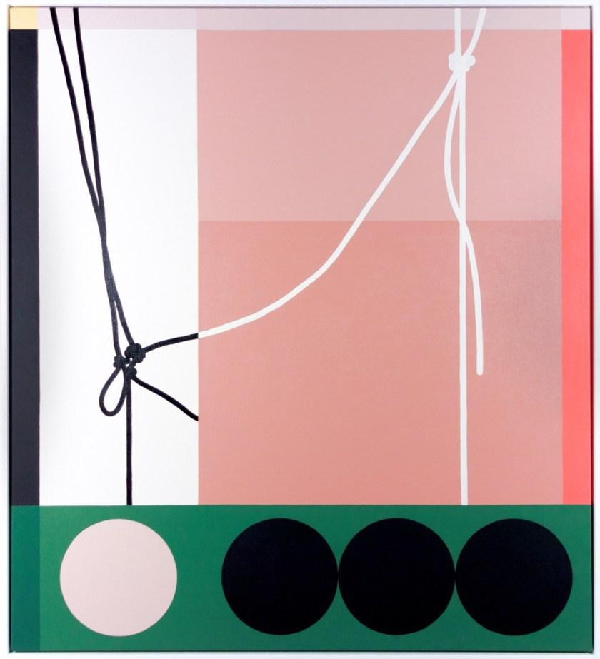 "Matthew-Fortrose_Cord-Three-Circles-Black-Hole_91x102cm Previews: ""Fresh Blood"" @ Backwoods Gallery Random"