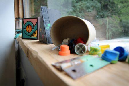 Shelf-450x300 Studio Visits / Interviews: Rowdy Random
