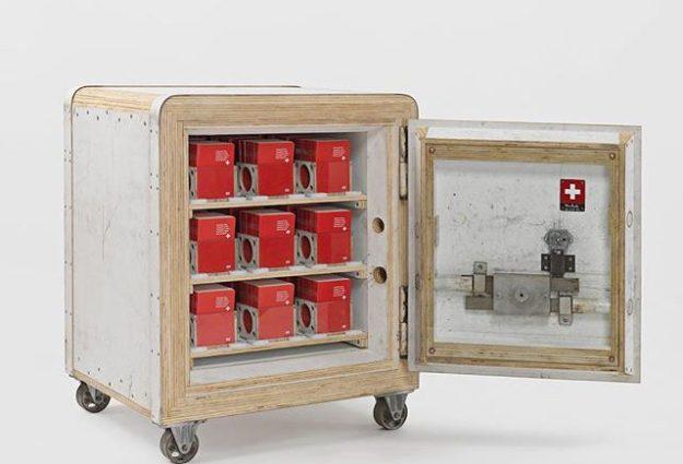 "41843018_1985072574888510_3309024269727890808_n-640x435 Upcoming: Tom Sachs – ""Swiss Passport Office"" @ Galerie Thaddaeus Ropac (London) Random"