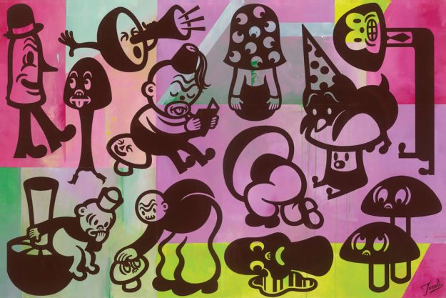 "MushroomFRONT-WEB-1024x683 Previews: ""Hi-Fructose Presents: The Art of The Mushroom"" @ Compound Gallery Random"