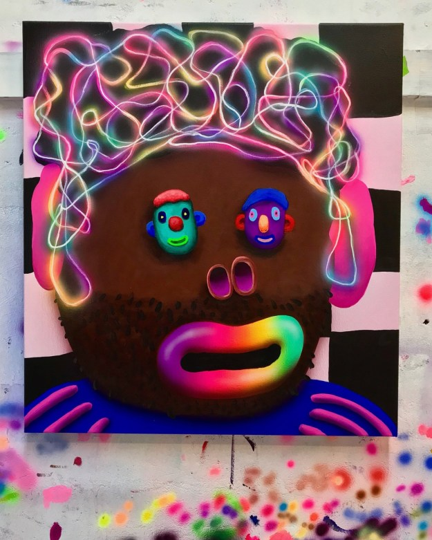 "Super-Future-Kid Previews: ""Universes"" @ Tales Of Art Gallery Random"