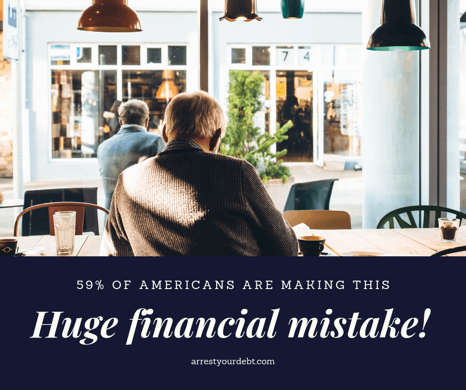 Find out what money mistake the majority of Americans are making!