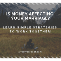 Money and marriage don't seem like they go together. Find out the simple strategy to get on the same page!