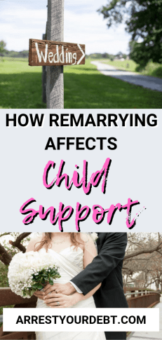 How remarrying affects child support