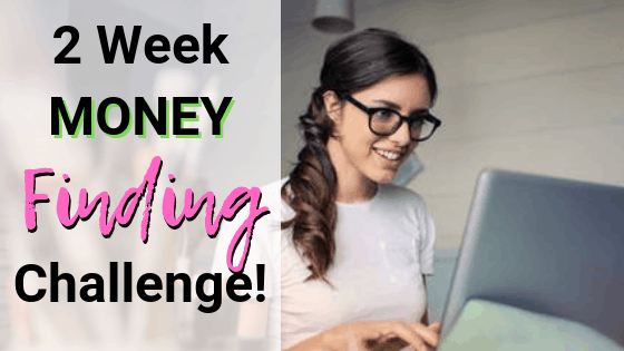 2 week money finding challenge