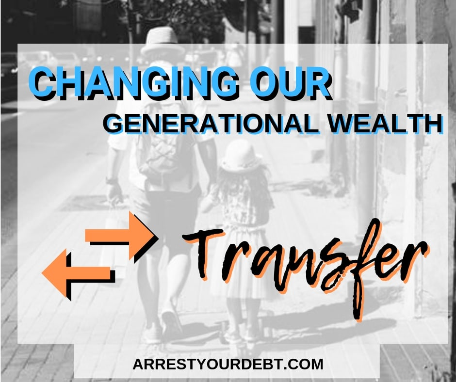 Changing our generational wealth transfer