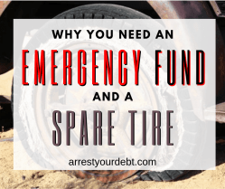 Why you need an emergency fund and a spare tire