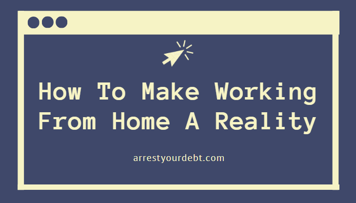 how to make working from home a reality