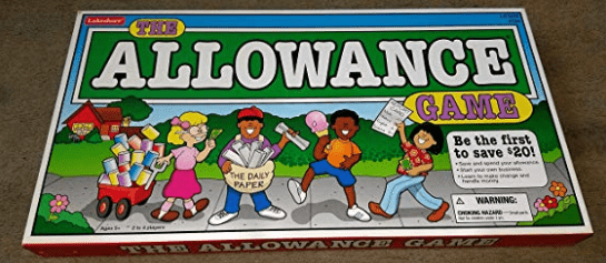 The Allowance Game (ages 5 - 11)