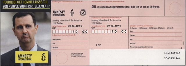 amnesty inter assad