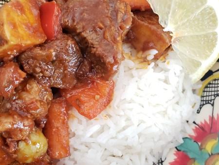 Caldereta Recipe with Harris Ranch Beef