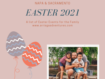 Easter 2021- Things to do in Napa & Sacramento
