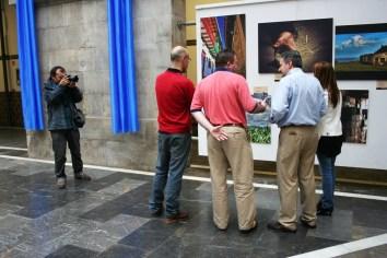 """ARRIBADA 2009: Día 16 de setiembre. Imáxenes tres la inauguración de la esposición """"Buelga Astur"""""""