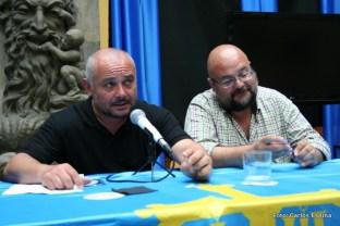 Jesús Parrado y Alberto Álvarez Peña