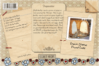Recipe Card Cream Cheese Pound Cake