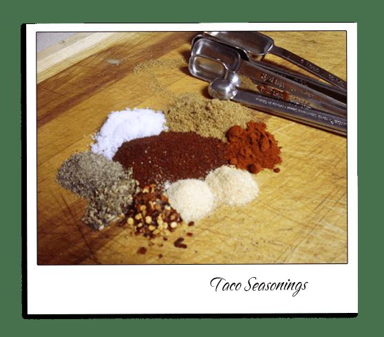 Taco Seasonings Mix