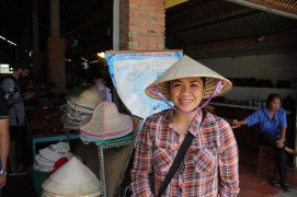 Toured around the orchards, paddy fields and swamplands of the Mekong Delta in Vietnam