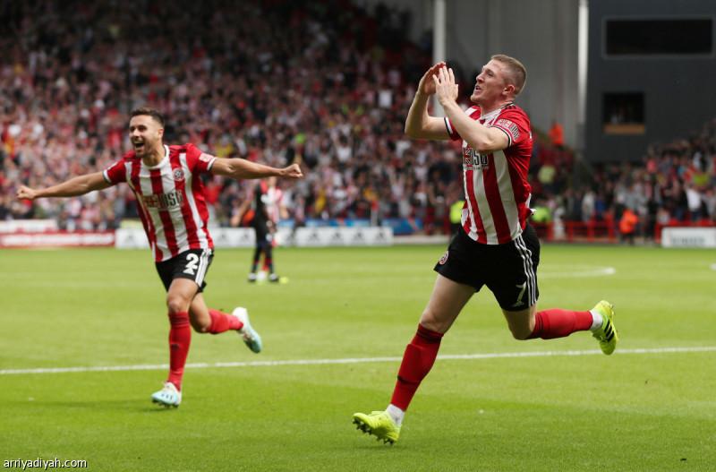 شيفيلد يونايتد يحقق فوزه الأول في الدوري الإنجليزي