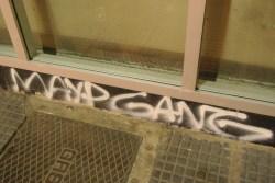 Grafiti sobre Boedo