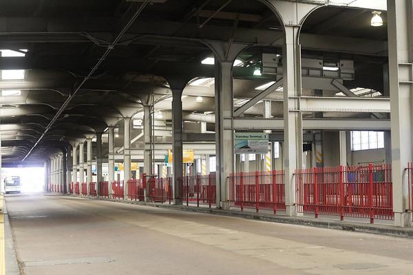 Transbay Transit Terminal Bus Deck