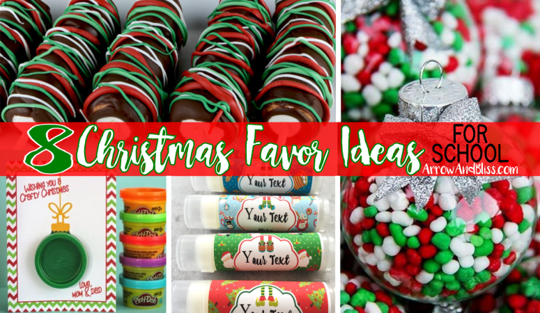8 Christmas Party Favor Ideas for School