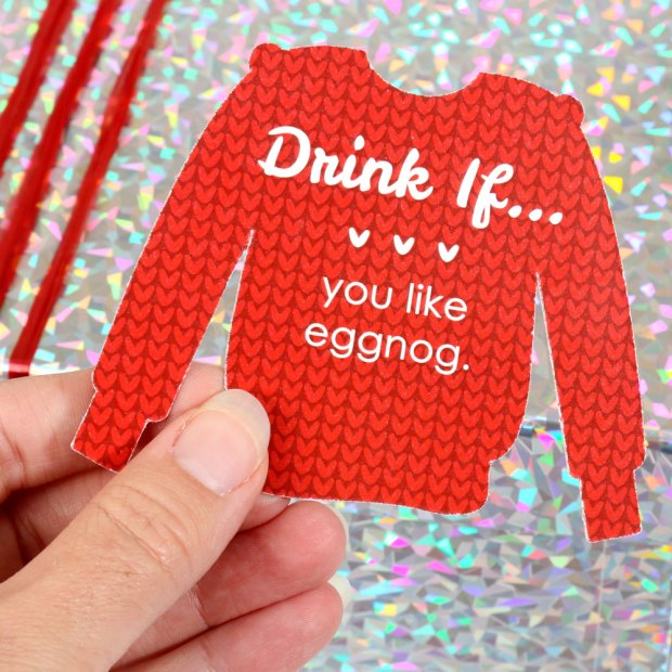 Ugly Sweater Christmas Party Drinking Game
