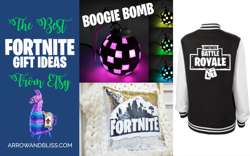 Check out the best Fortnite gift ideas on Etsy.