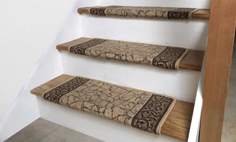 How To Install Carpet Stair Treads On Your Staircase Arrow | Carpet Risers For Stairs | Hardwood Floors | Staircase Makeover | Hardwood | Open Riser | Stair Railing