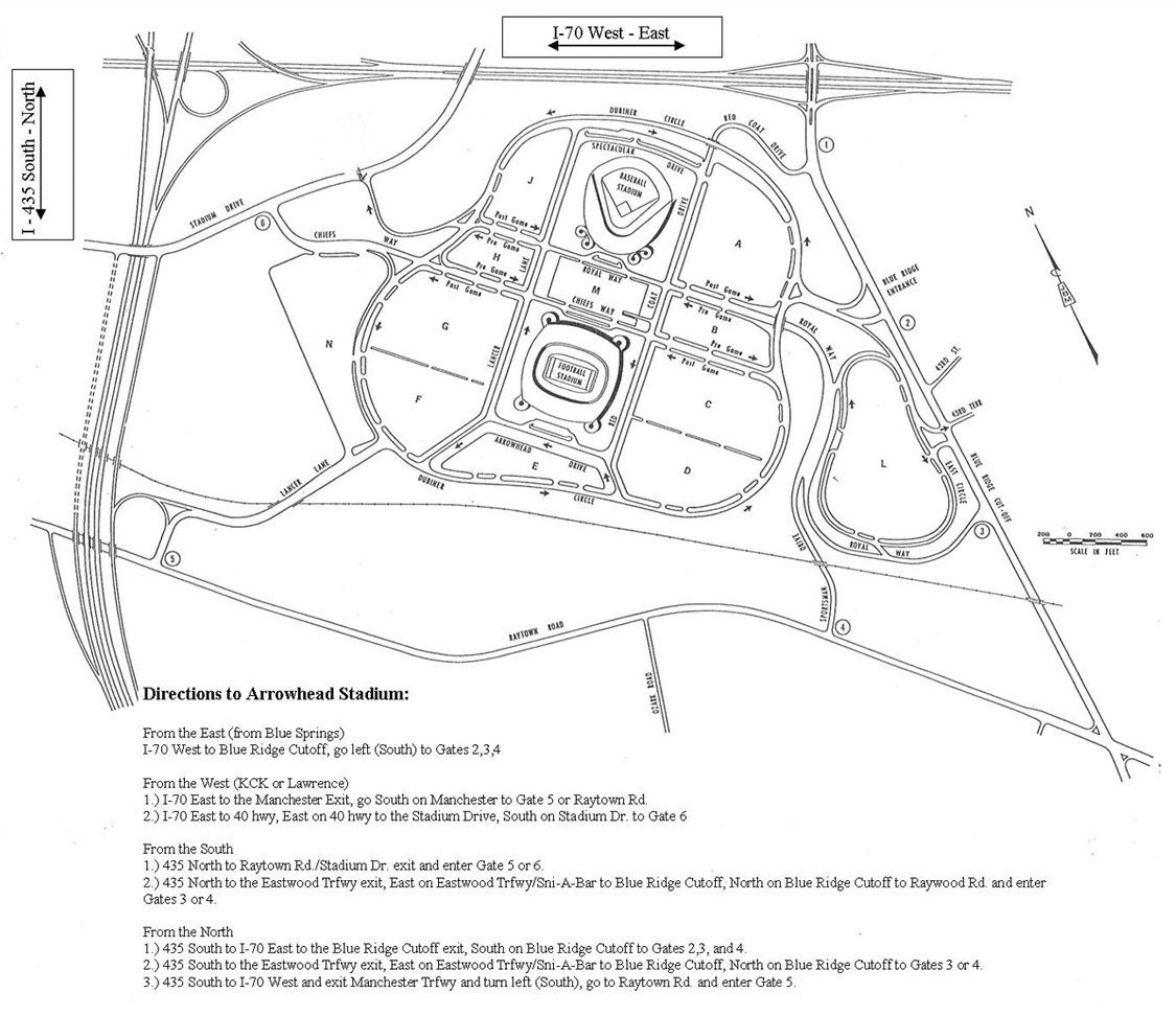Maps Diagrams Parking Events At Arrowhead