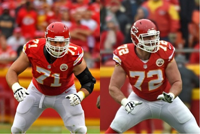 Image result for Eric Fisher and Mitchell Schwartz