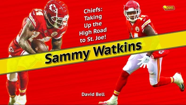 quality design 0459e 83857 Chiefs: Taking Up the High Road to St. Joe! - Sammy Watkins