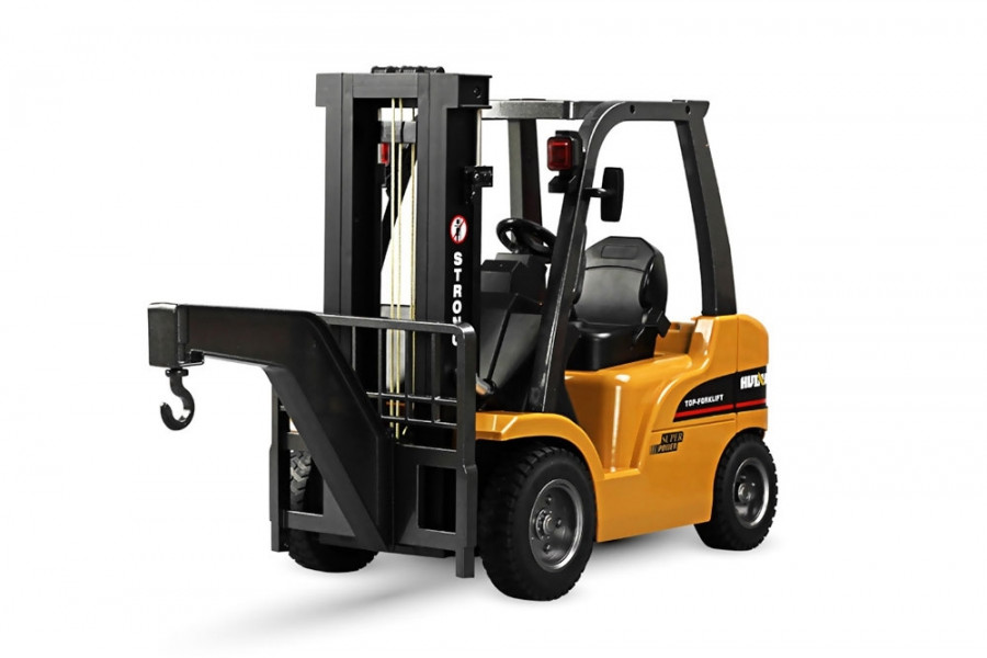 Large 8 Channel RC Fork Lift Truck With Metal Frame, Cab