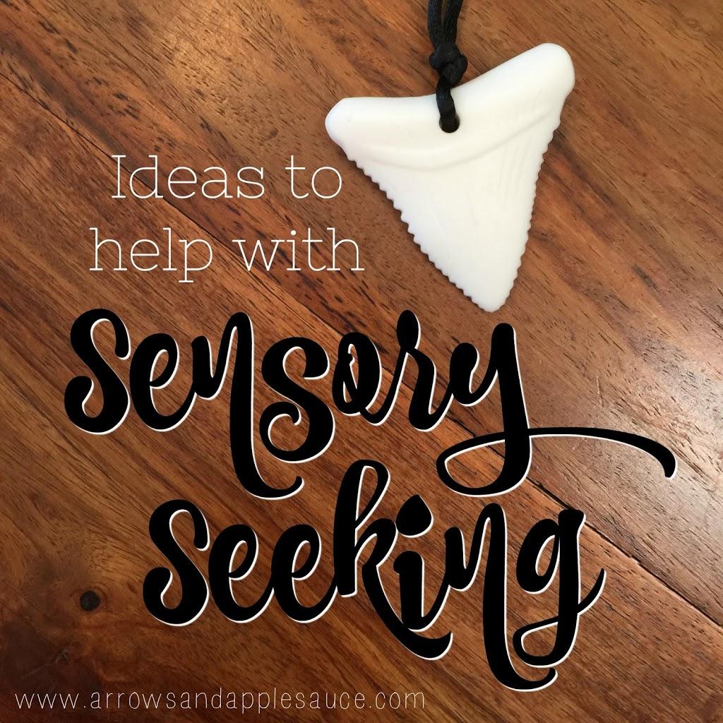Ideas to help with sensory seeking. Four simple steps to take to improve sensory seeking behavior.