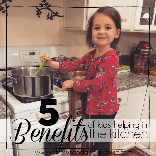 Five Benefits Of Letting Kids Help In The Kitchen