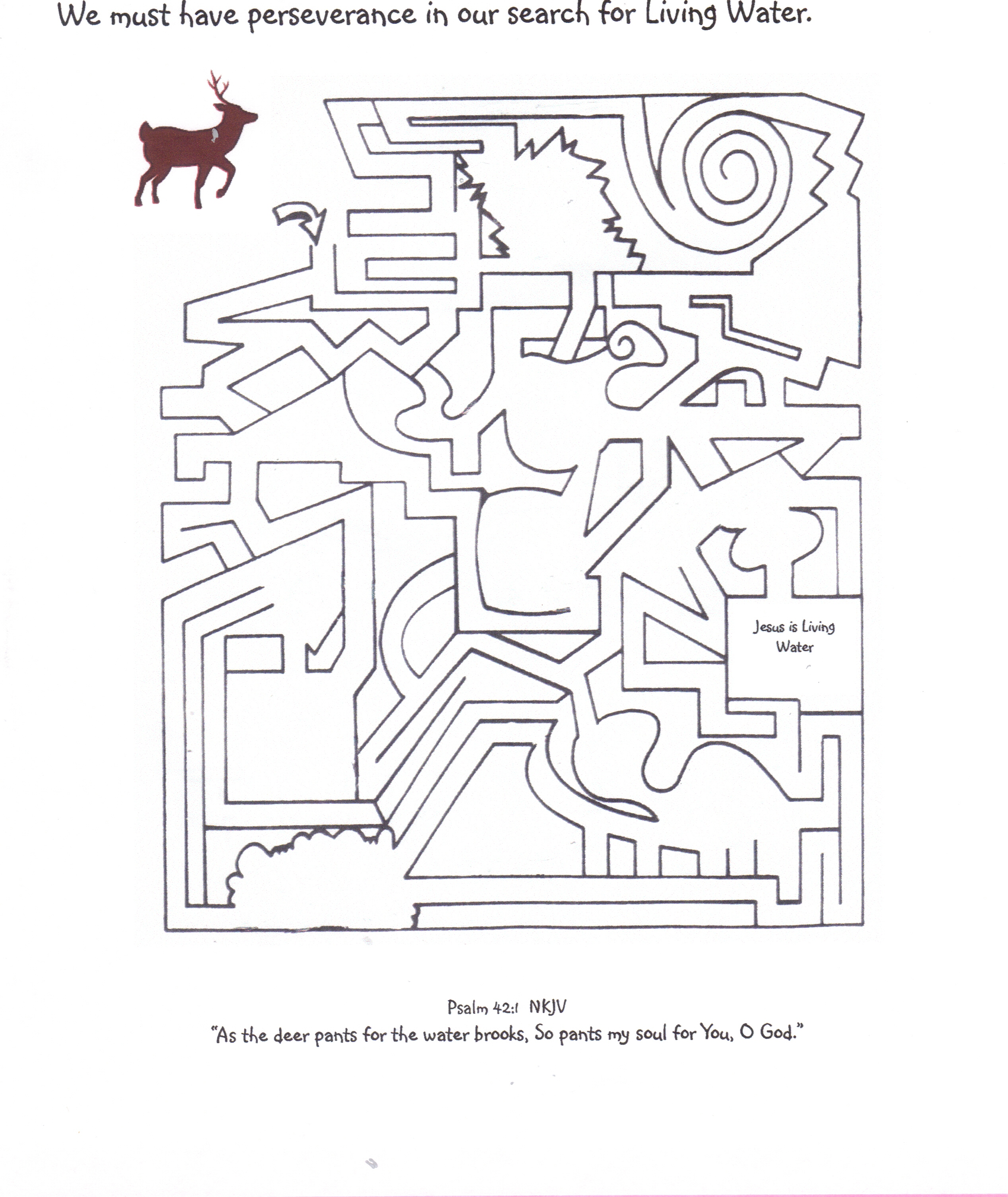 Psalm 119 Coloring Page