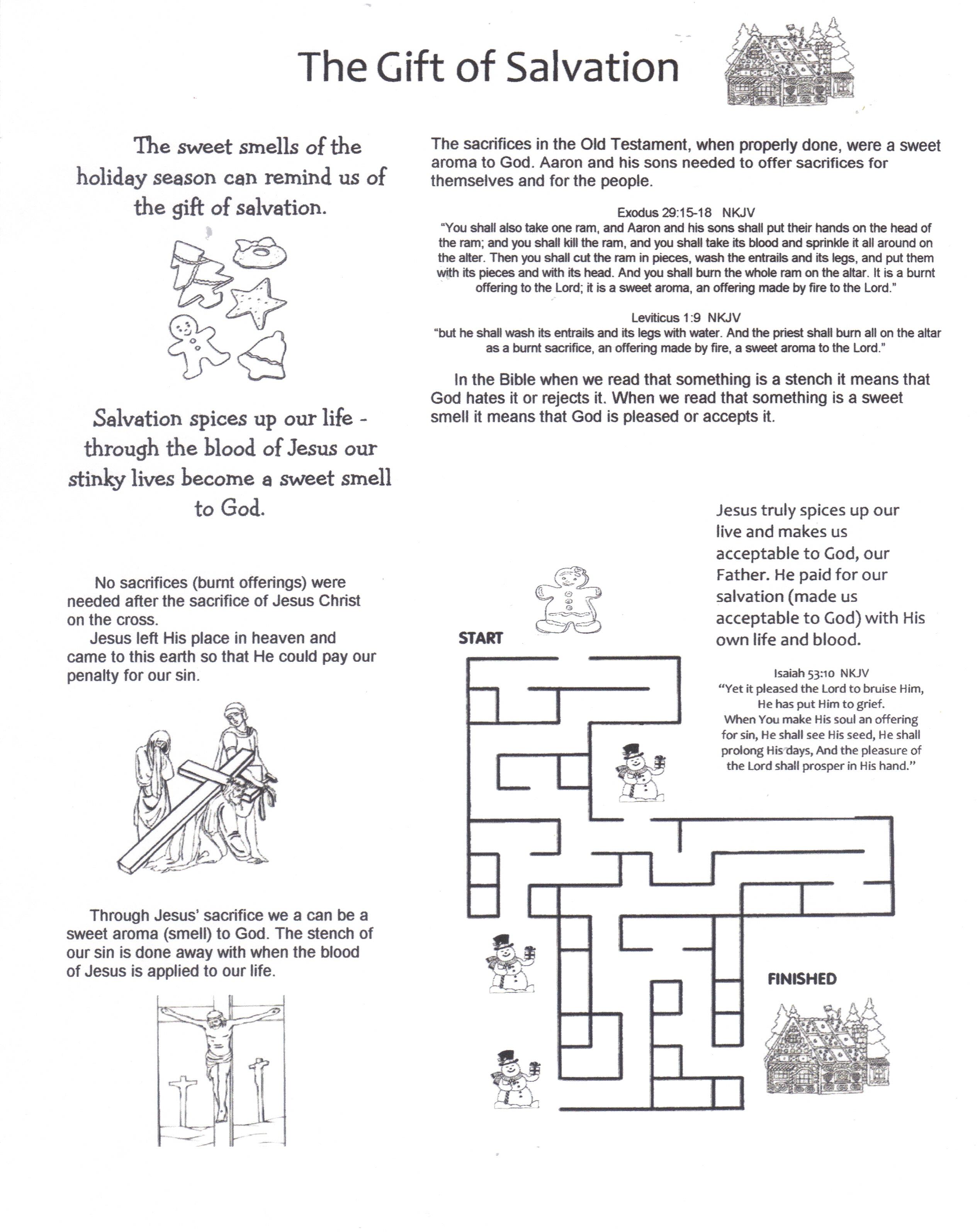 Children S Bible Activities