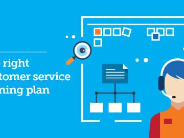 customer service training plan