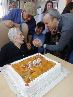 100 años TEODORA TEJADO PADILLA